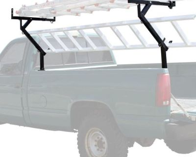 3-ladder Pickup Truck 250 Lb Side-mount Lumber, Pipe & Material Rack Tlr-3-v2