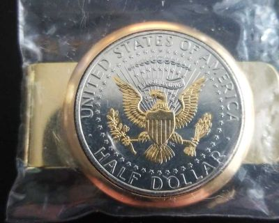 Silver gold half dollar