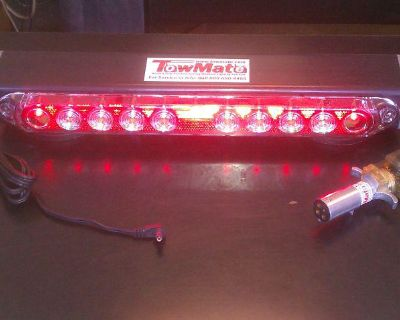 """New Magnetic Tow Truck Led Lights,wireless Tailight System 17"""" Towing Light Set"""