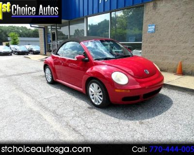 Used 2009 Volkswagen New Beetle Convertible 2dr Auto S