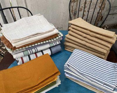 World Market Napkin Sets & 2 tablecloths