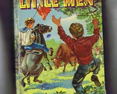 """""""Little Men"""" Vintage Book - 1955 - Hard Cover"""