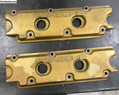 911 901 Porsche SWB valve covers aluminum sandcast