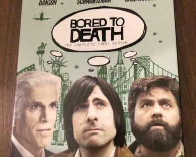 Bored to death season 1 DVD