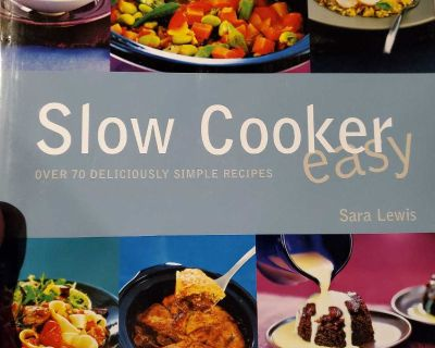 Slow cooker cook book