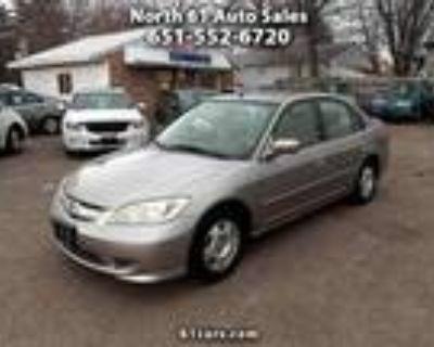 2005 Honda Civic Brown, 158K miles