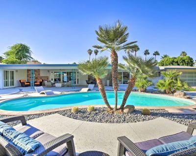NEW! Mid-Century Modern Retreat w/ Outdoor Oasis! - Rancho Mirage