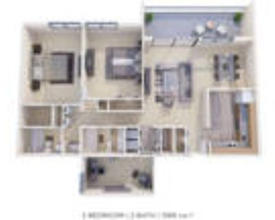 Timberlake Apartment Homes - 2 Bedroom 2 Bath Den