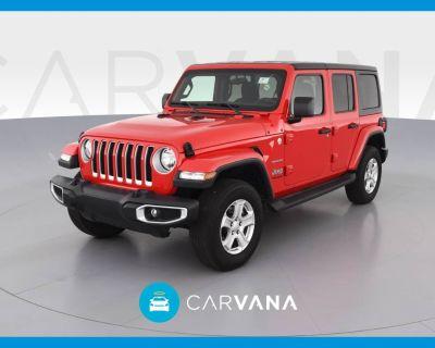 2021 Jeep Wrangler Sahara
