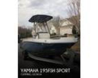 19 foot Yamaha 195FSH Sport