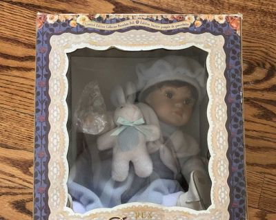 Rebecca Collection Porcelain Doll *Never Opened