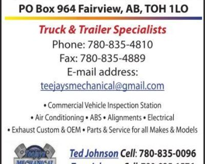 TEE JAYS MECHANICAL PO Box...