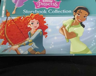 Disney Princess Storybook Collection Hardcover NEW