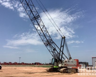 2008 Link-Belt 218 HSL Hylab 110 ton Lattice-Boom Crawler Crane