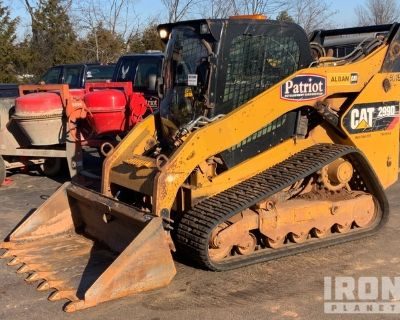 2013 Cat 299D Two-Speed High-Flow Compact Track Loader