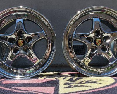 "18"" Speedline Alessio SL978 3 Piece Wheels 18x8 & 18x10"