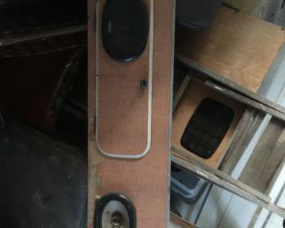 Westfalia z bed Front panel with door westy 68-73