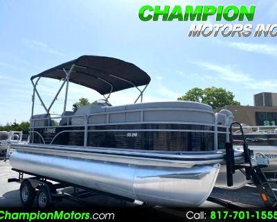 Used 2021 Lowe SS210 Pontoon Boat w/Mercury 115HP CT 4S