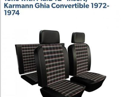Karmann Ghia Conv TMI Seat Upholstery Full Set