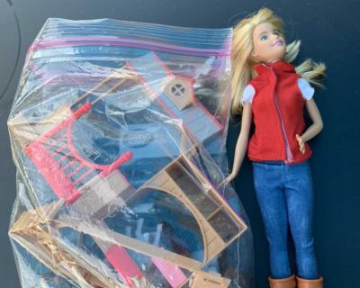 Vet Barbie and Farm Accessories are