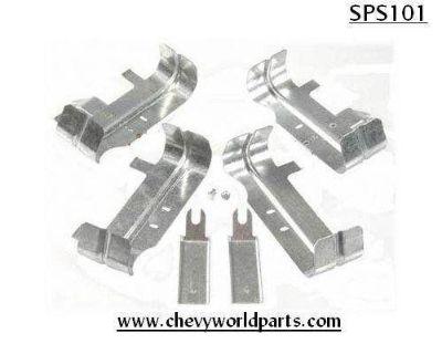 Chevrolet Small Block Engine Spark Plug Heat Shield Set