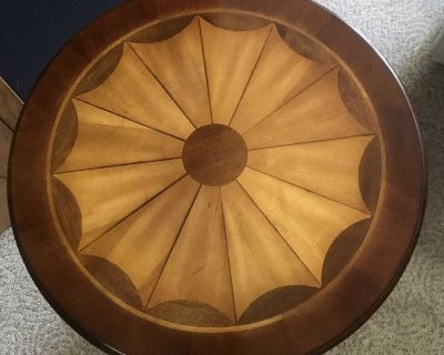 Butler Specialty Plantation Cherry Carissa Round Side Table
