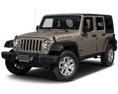 2017 Jeep Wrangler Unlimited Unlimited Rubicon 4WD