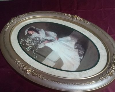OVAL ART/PICTURE FRAME
