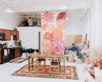 White Industrial Loft with a Photography Studio, Pawtucket, RI