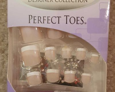 Nailene Designer Collection Nails for Toes - Pink Opal
