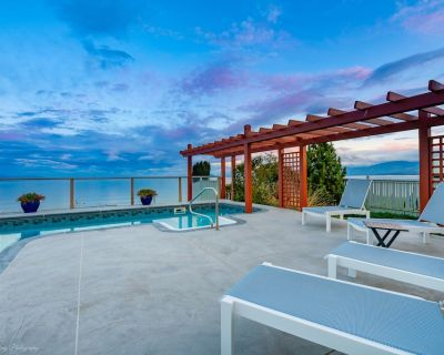 Beachfront. Hot Tub. Private Pool. Amazing View. Christmas and New Year's Open! - Comox