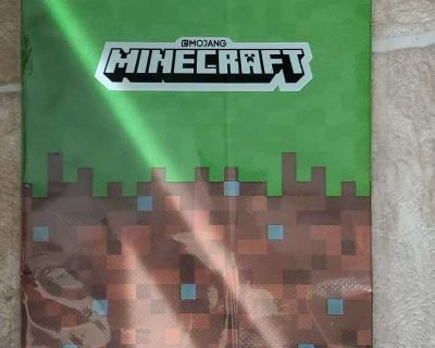NEW Minecraft Table Cover