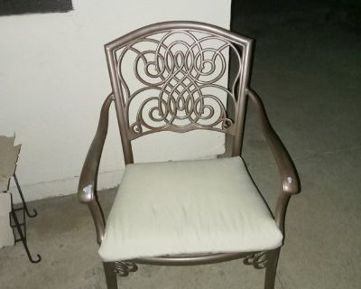 Patio chair cushions (not the chairs)