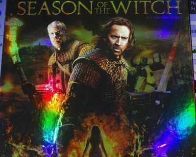 SEASON OF THE WITCH BLURAY