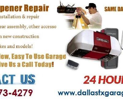 Same Day Garage Door Repair, Spring Repair, Installation Service in $25.95 Dallas, 75244 Texas