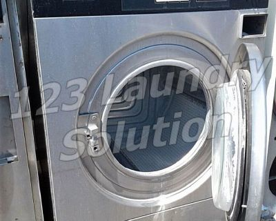 Heavy Duty IPSO Front Load Washer 40LB WE181C 1PH 220V Stainless Steel Finish Used