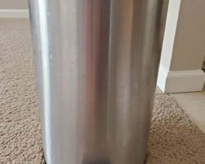 Pedal bin, stainless steel 3 gallon