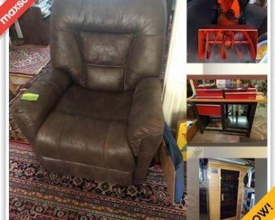 Lowell Downsizing Online Auction - Tolman Avenue