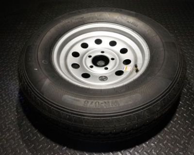 15 Trailer Tire And Wheel - 225 75 R15 - 10 Ply - Trailquest