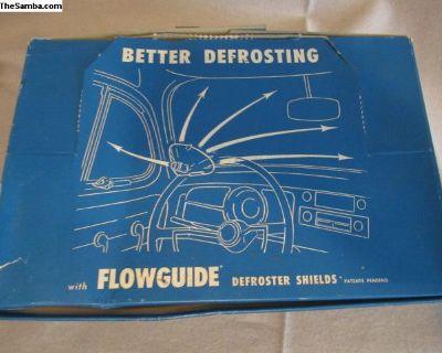 RARE N.I.B Heater air deflectors N.O.S