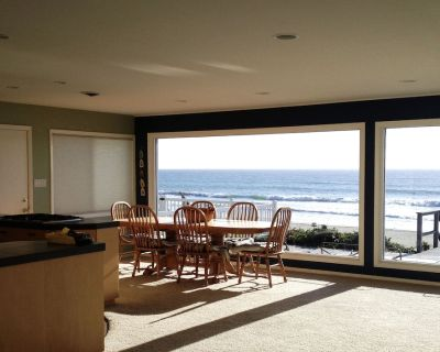 Beautiful Ocean Front Beach House with Stunning Views - Cayucos