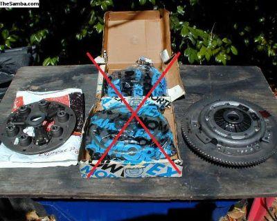 FS: flywheel / pressure plates