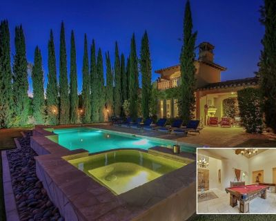 Cypress: Pool, Spa, Pool Table, Gym, Fireplace - La Quinta
