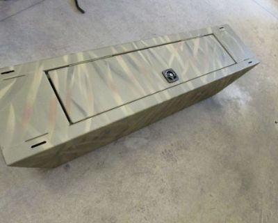 Tracker Marine Jon Boat Camo Storage Compartment Lockable
