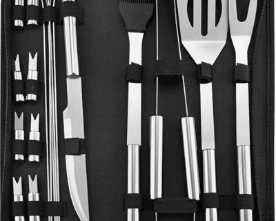 Brand new BBQ Grill Utensils Set 18 Pieces Stainless Steel