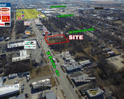 N. West Street Land for Sale or Build-to-Suit