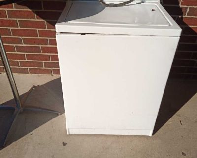 $40 for both Washer and dryer
