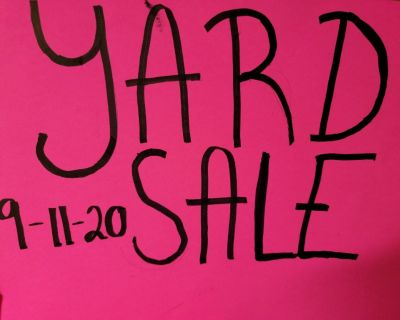 Garage/yard sale 9/11