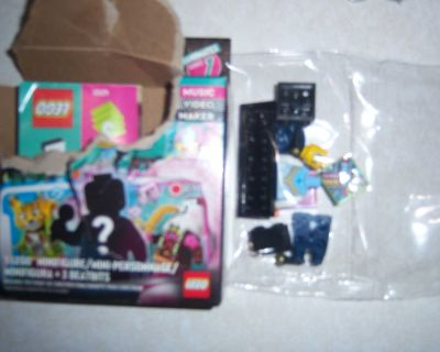 lego vidiyo cow boy minifigure willm ing to trade it also for other figure