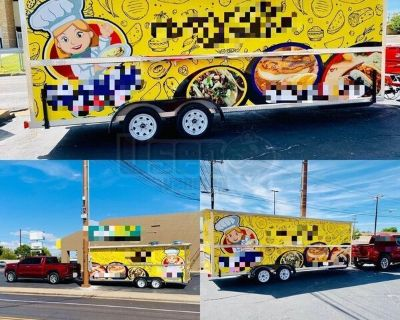 Well-Equipped 2019 Kitchen Food Trailer / Used Mobile Kitchen